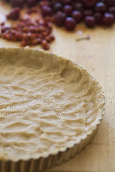 Almond Cookie Tart Crust (easy!)