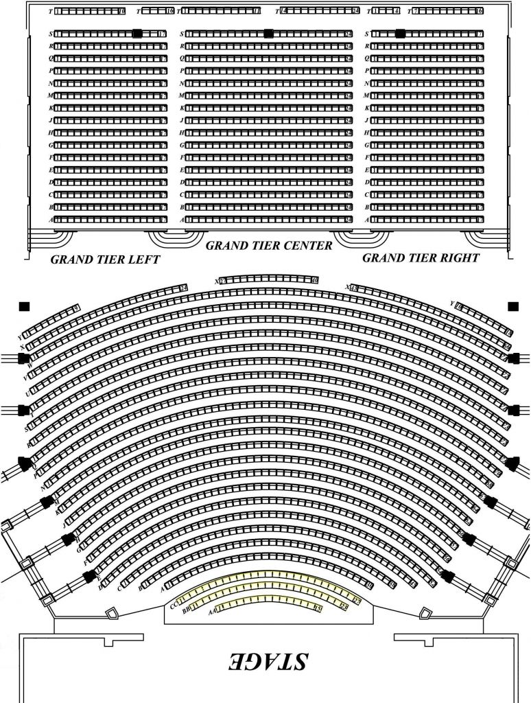 Seating Charts North Charleston Coliseum Performing Arts Center Within Amazing Performing Arts Center Seating Chart Cerritosperformingartscenterseatingchart Di 2020