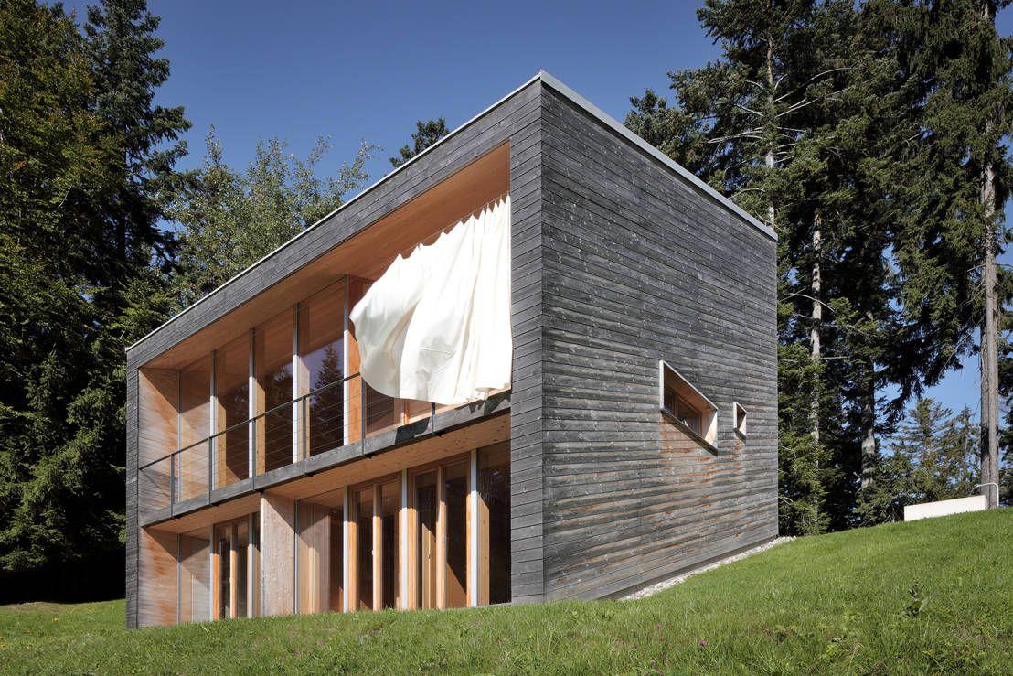 Holzhaus Stuttgart modernes holzhaus in der natur modernes holzhaus holzhäuschen und