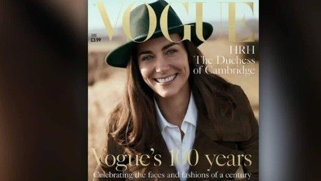 British Vogue cover to feature Duchess of Cambridge  - CNN.com