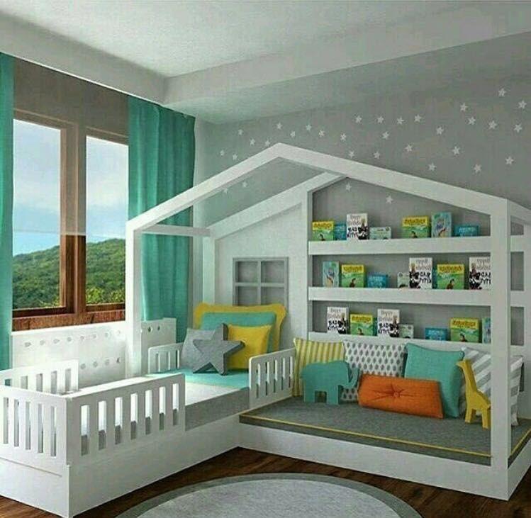 Cuna hermosa para bebé, corral | country madera | Pinterest | Para ...