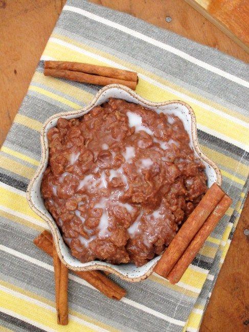 Chocolate Chai Oatmeal - The Oatmeal Artist