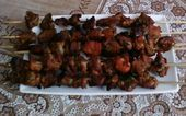 Photo of Choie or skewers of meat. – Sunshine Cooking-Choie ou broche…