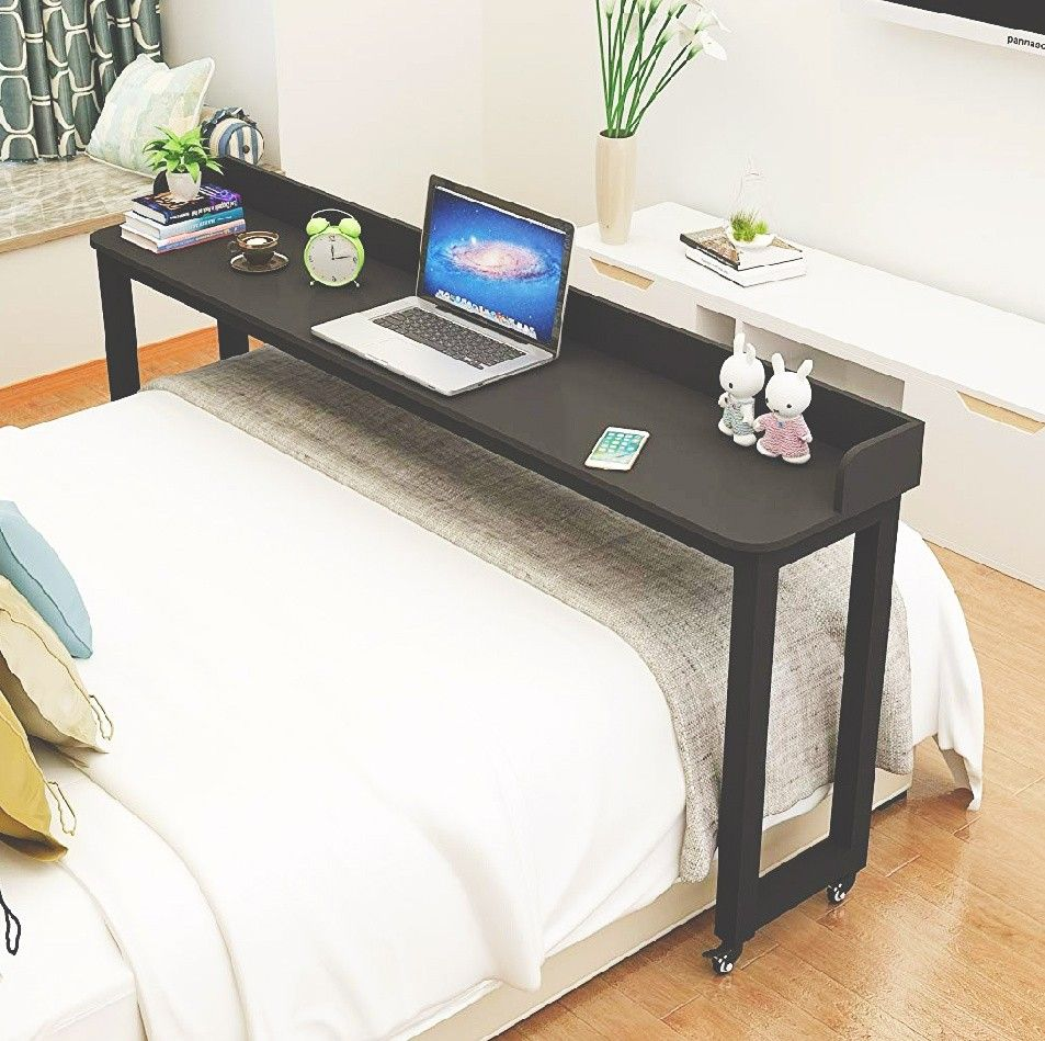 Chill In Bed With This Desk Station In 2020 Bed Table Bed Table