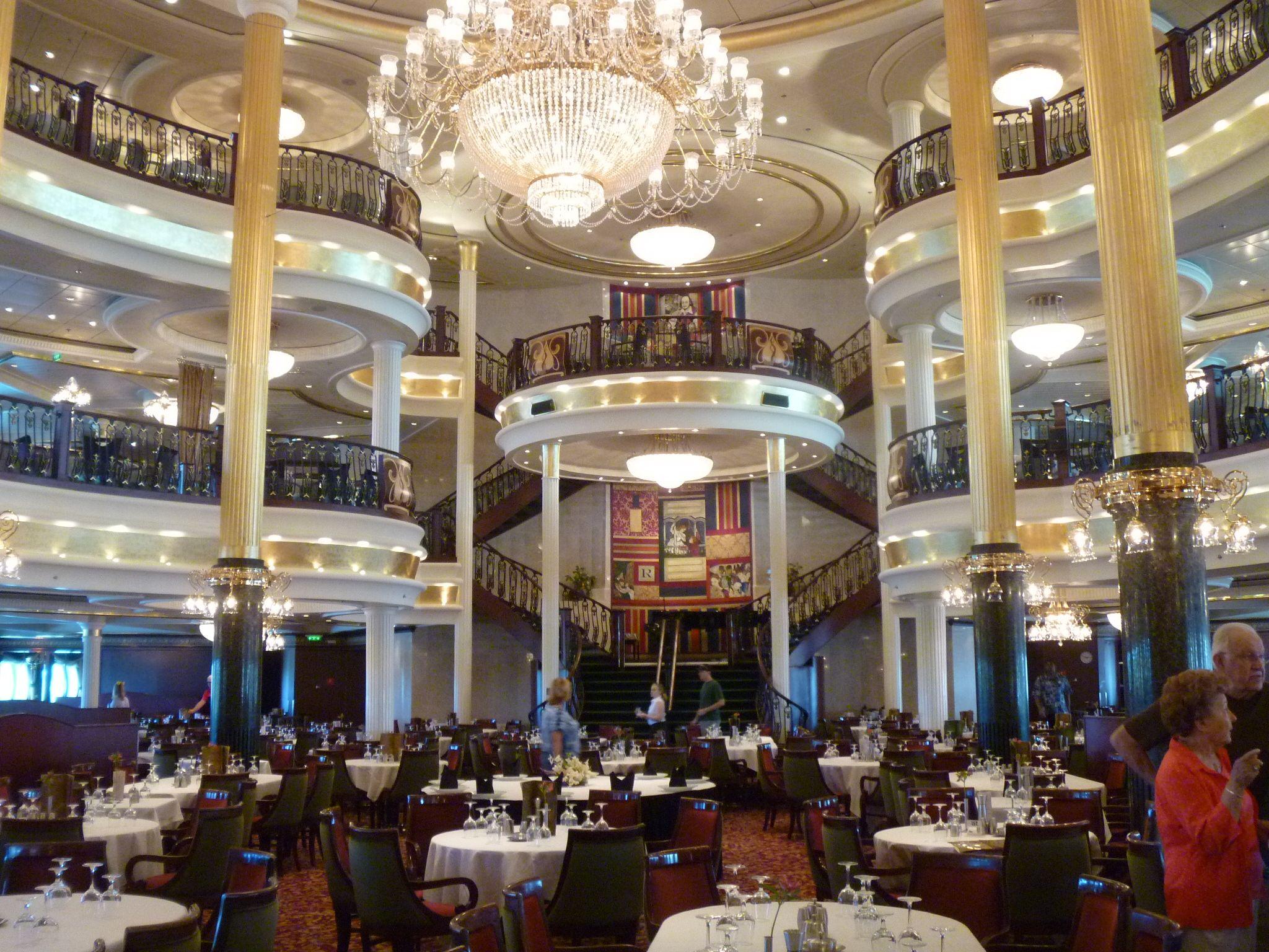 13) Oasis of the Seas. Main dining room. | Marine Engineering ...