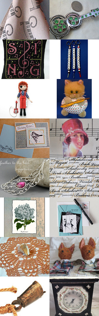 Musicale by Celebration Times Team by Virginia Soskin on Etsy--Pinned with TreasuryPin.com