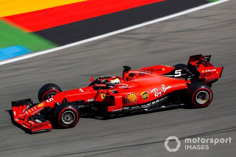 Sebastian Vettel Ferrari Sf90 Ferrari Ferrari F1 Formula 1