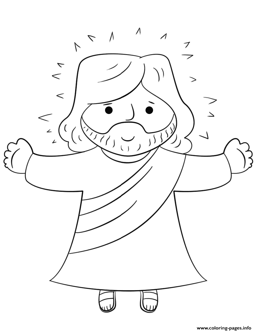 Print Cartoon Jesus Coloring Pages Jesus Cartoon Jesus Coloring Pages Coloring Pages