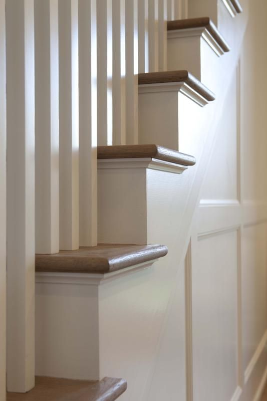 Best White Stair Tread Trim In 2020 Stairs Trim Small 400 x 300
