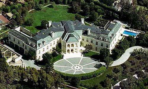 the manor beverly hills los angeles the french chateau style mansion is