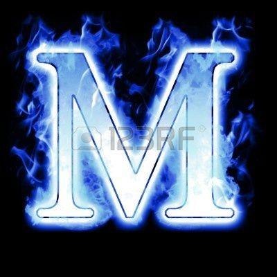 Pix For Letter M Blue Fire Inspiration Fire Lettering Blue