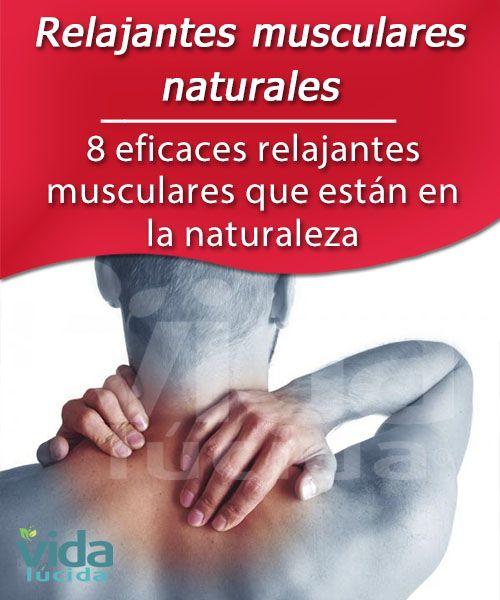 relajante muscular para el cuello natural