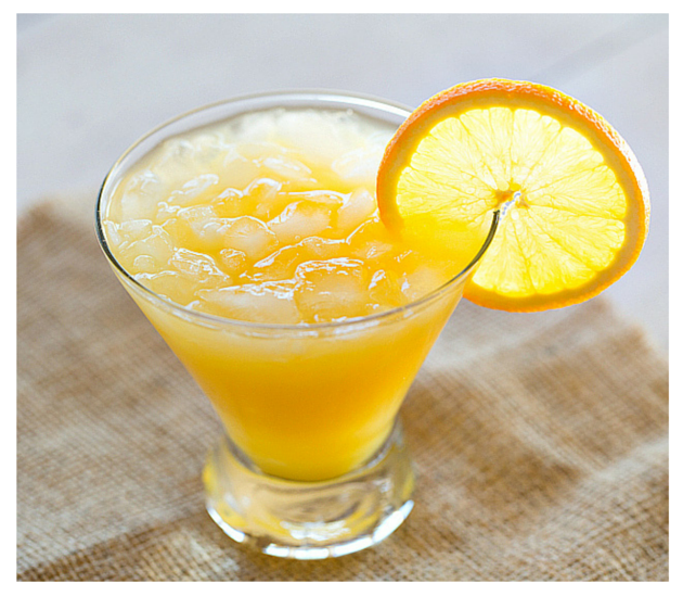Triple Sec, Sambuca And Orange Juice