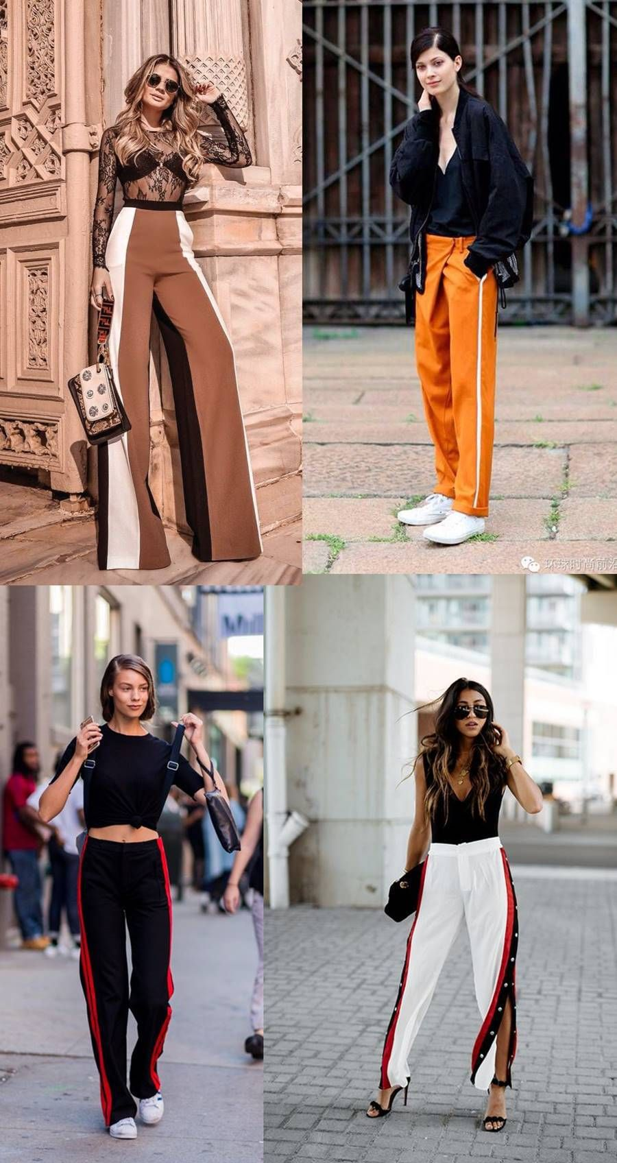 49b9b8313 Como usar e Onde comprar: Calça com Listra Lateral, compras online, loja  online, ecommerce, where to buy, track pants, how to use, trend, tendência,  look, ...