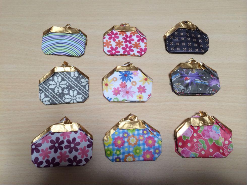 ★いきあたりばったり物語★ Origami coin purse