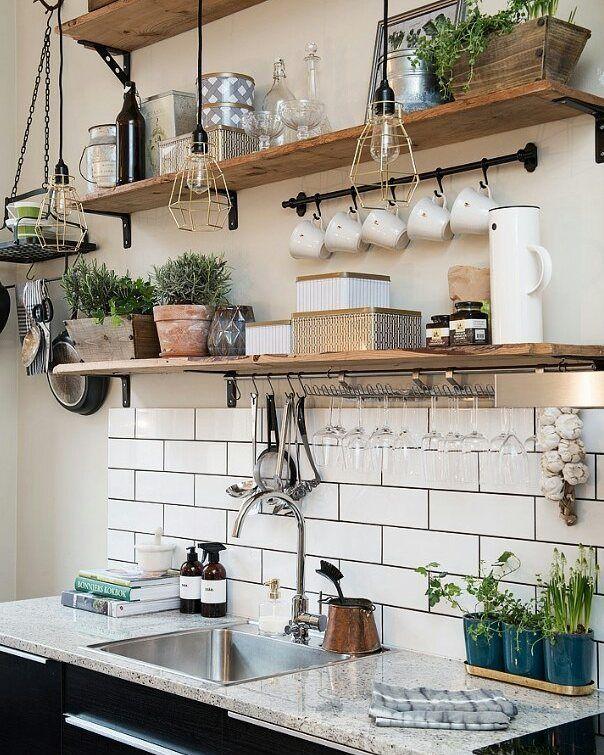 Amazing 10 Designs Perfect For Your Small Kitchen | Einrichtung, Küche Und Wohnen Photo