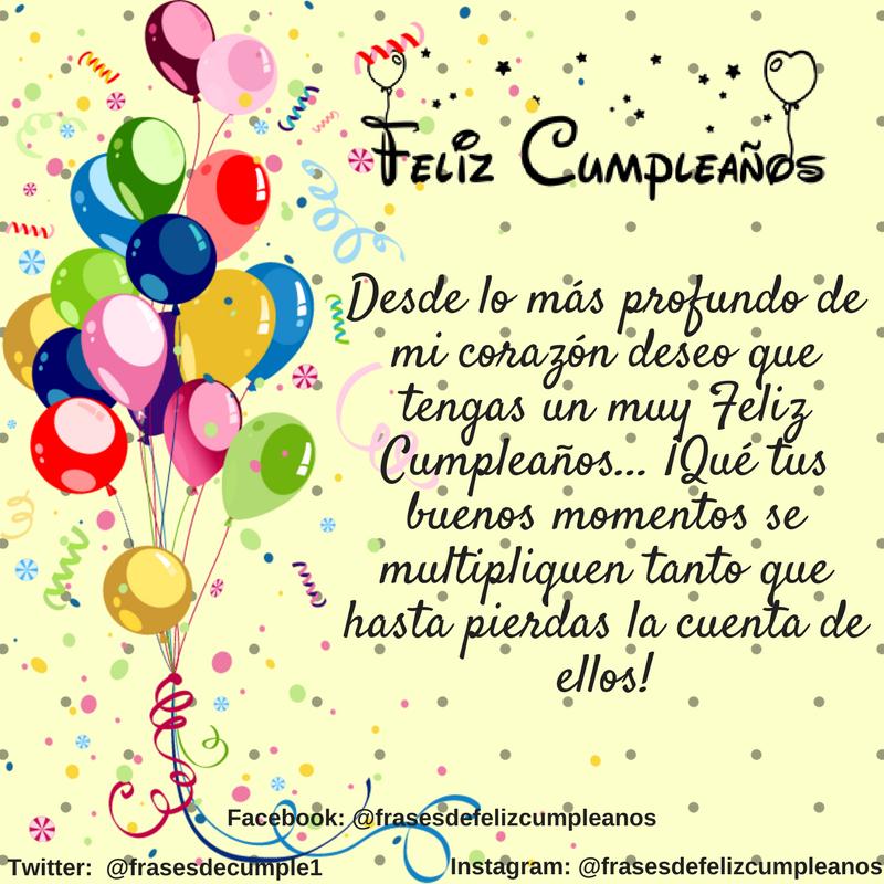 Mensaje De Feliz Cumpleaños Feñiz Cumpleaños Amiga