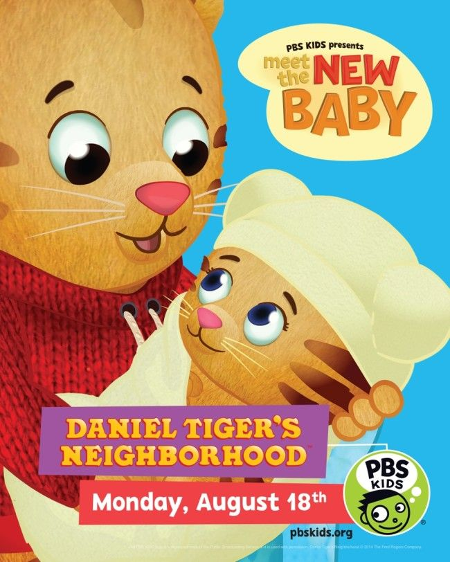 It\'s A Girl! PBS Kids Daniel Tiger Welcomes A Baby Sister | PBS Kids ...