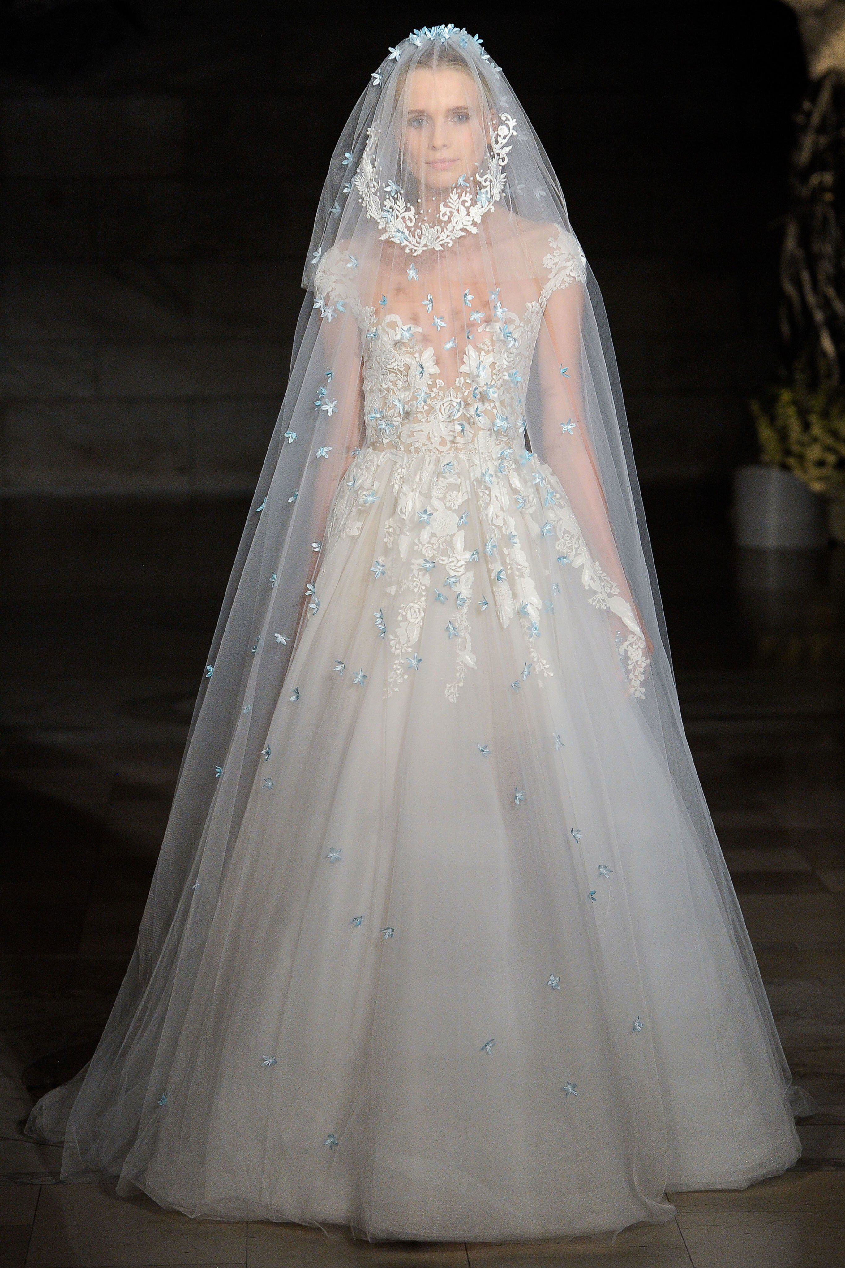 Reem acra fall bridal fashion show collection see the complete