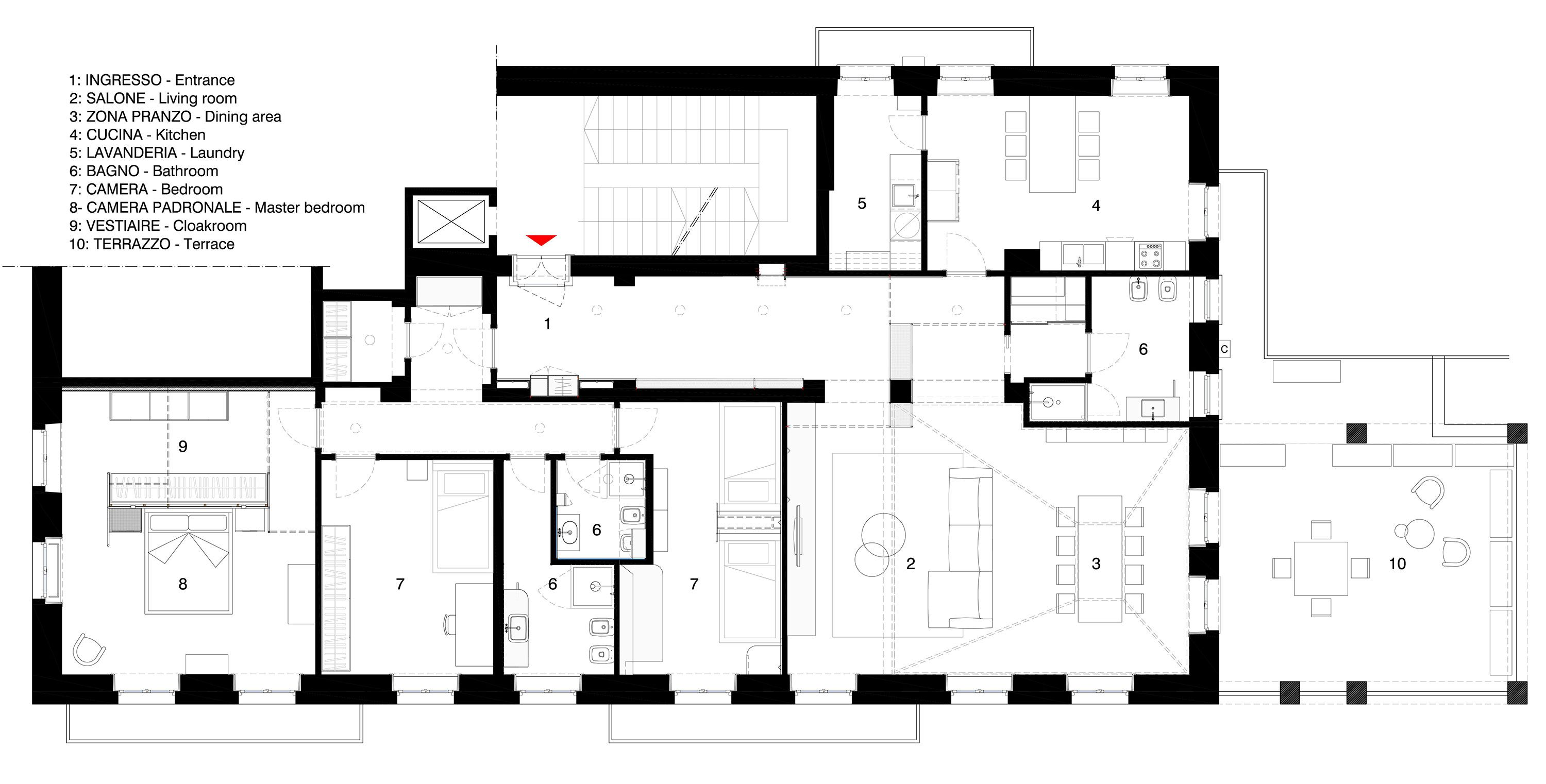 5 bedroom loft floor plans  Metaphysical Remix  PLAN DRAWINGS  Pinterest  Restoration and