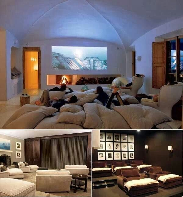 21 Incredible Home Theater Design Ideas Decor Pictures: 12 Amazing Home Cinema Designs
