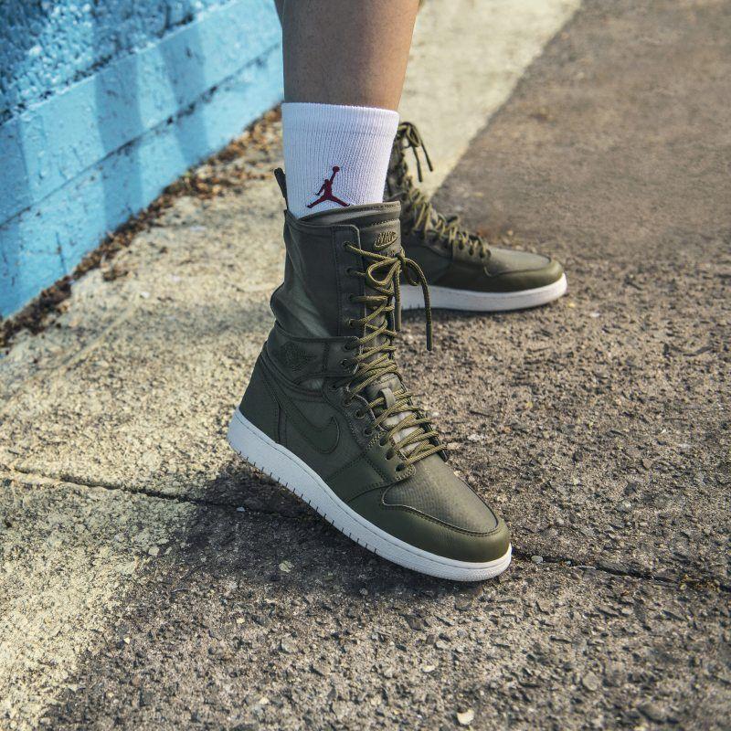 dc216609e0aa95 Air Jordan 1 Explorer XX Women s Shoe - Olive