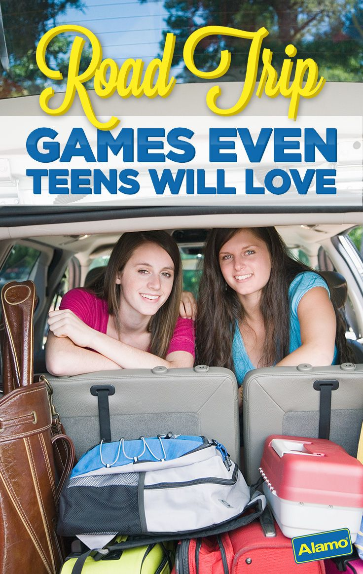 Road Trip Games Your Teens Will Love With Images Road Trip Fun