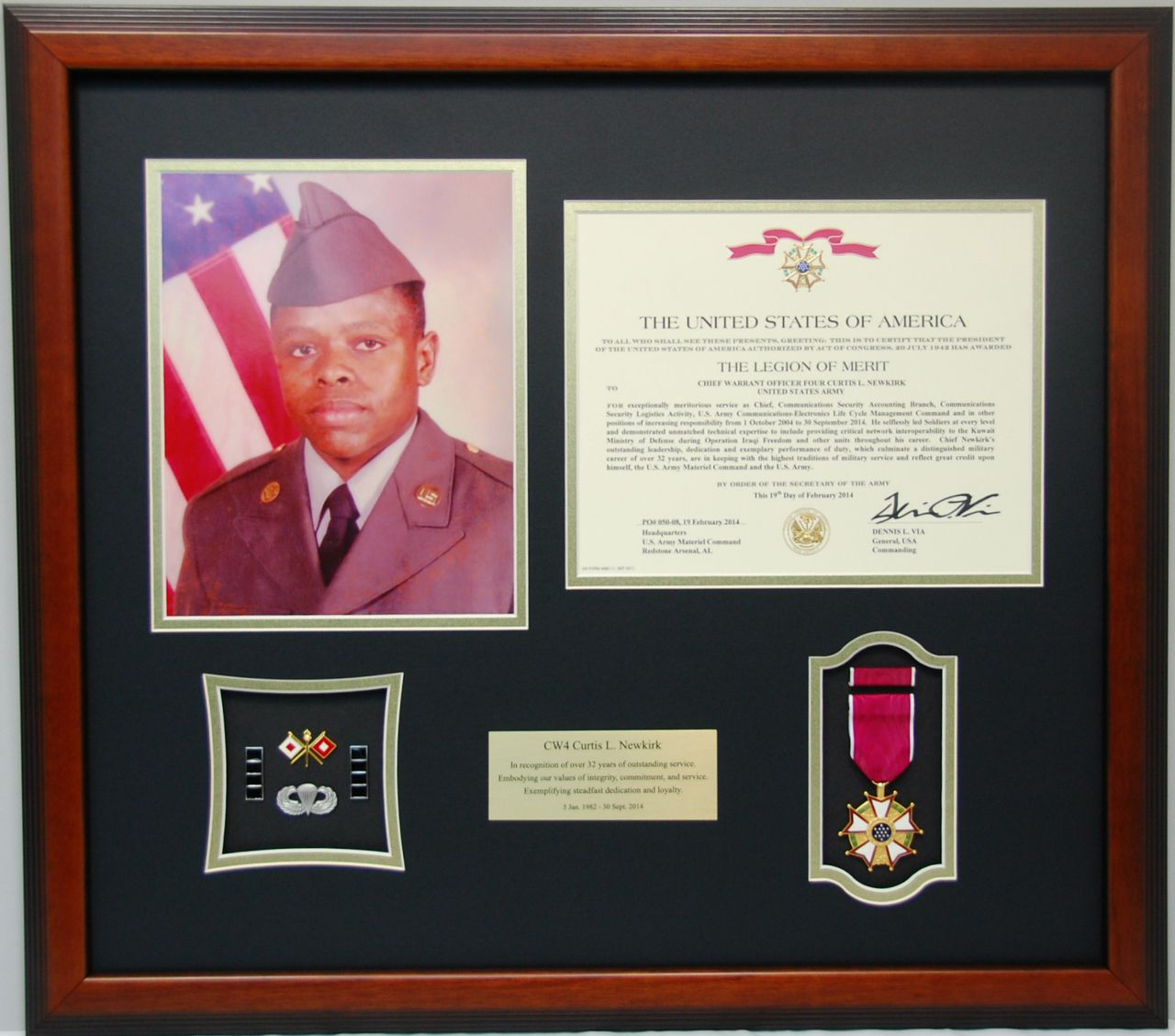 Military Memories And More 18 Quot X21 Quot Certificate Frame W