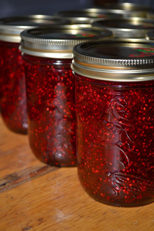 Raspberry Jam Canning recipes, Jam recipes, Raspberry
