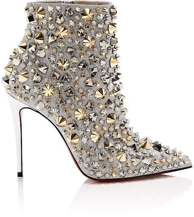 828cbdb756e Christian Louboutin Women s So Full Kate Glitter Ankle Boots  ad  boots