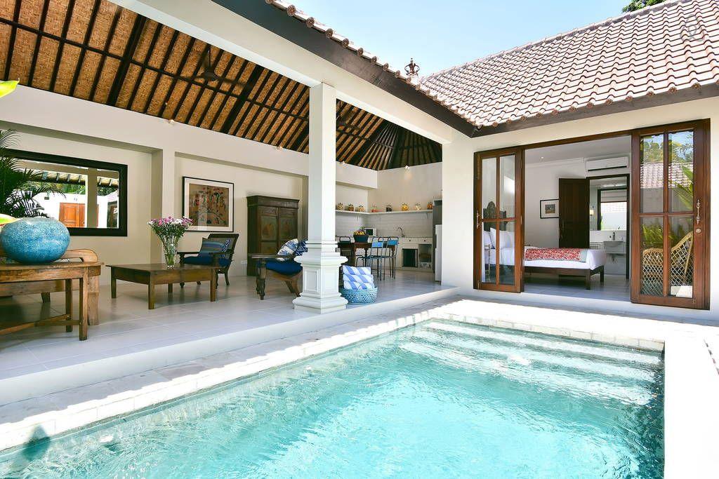 Villa Atma 5mins To Seminyak Center Villas For Rent Bali House Small Villa Villa Design