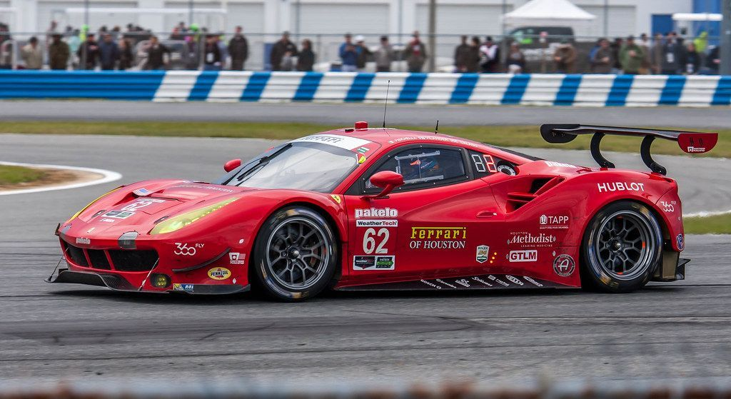 Risi Competizione Ferrari 488 GTE Sports car racing