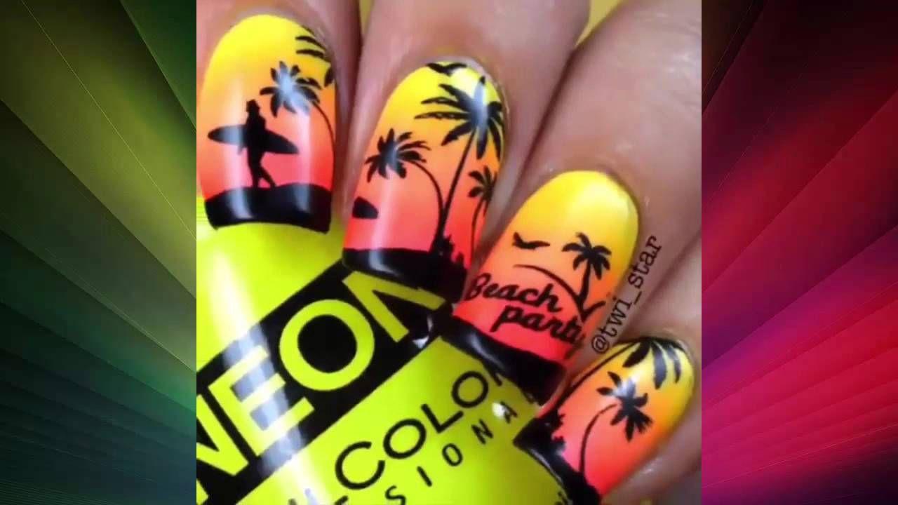 Nail Art Design Compilation Part 1 Videos Of Nails Pinterest