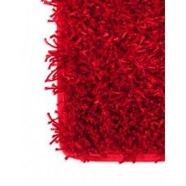 Good Modani   Red Fluffy Carpet Design
