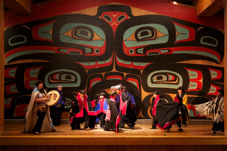 Native Dance Performers © Jocelyn Pride | Alaska, Tlingit, Dance