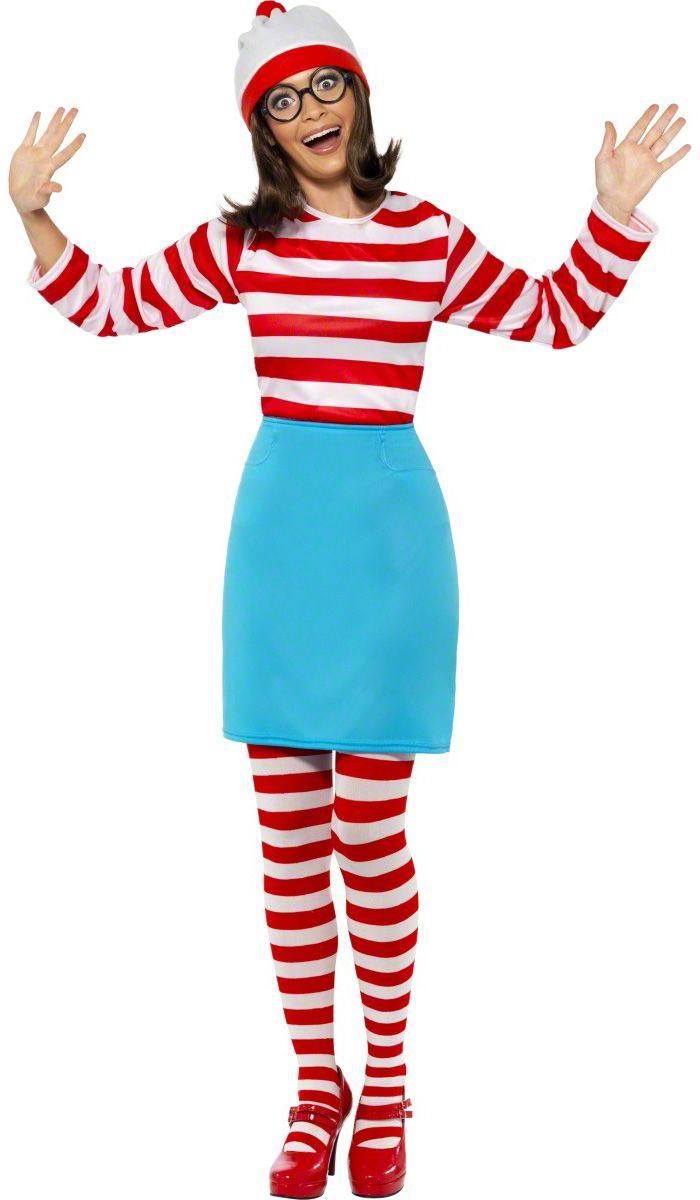déguisement Où est Charlie ? pour femme ! Passez incognito pour carnaval ;)