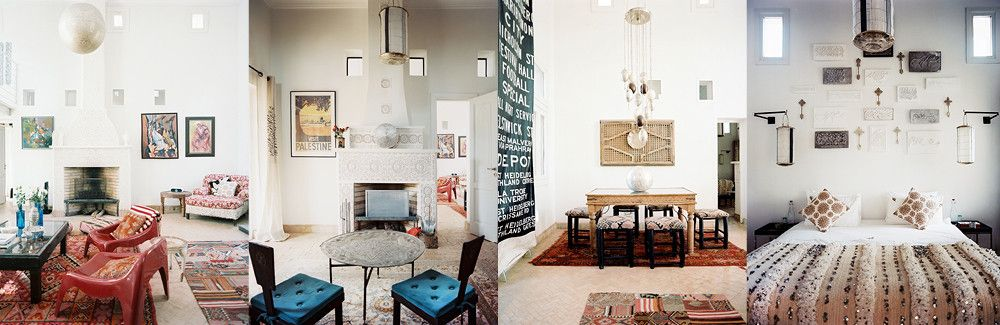 Maryam Montague's Moroccan Oasis Eclectic home, Interior