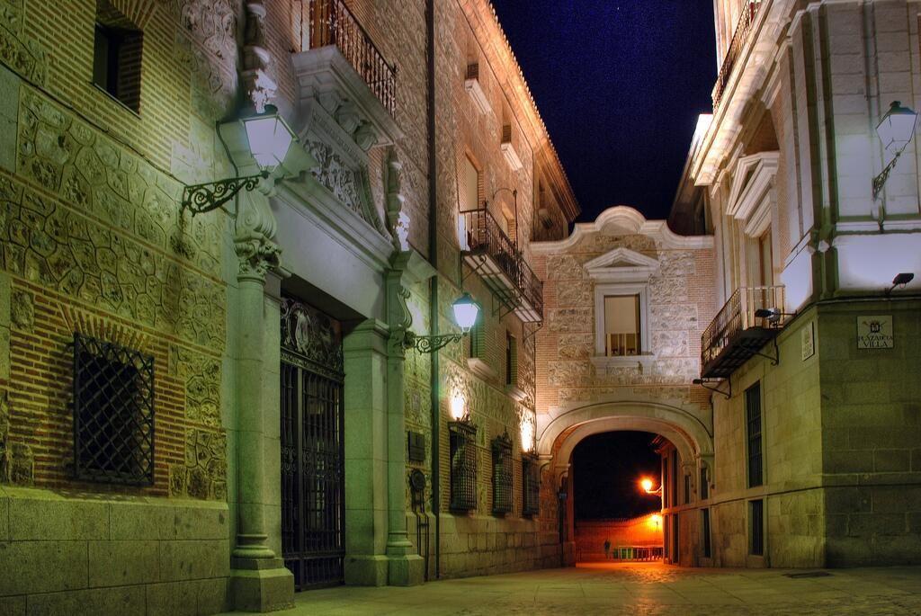 El arco de Cuchilleros en Madrid.