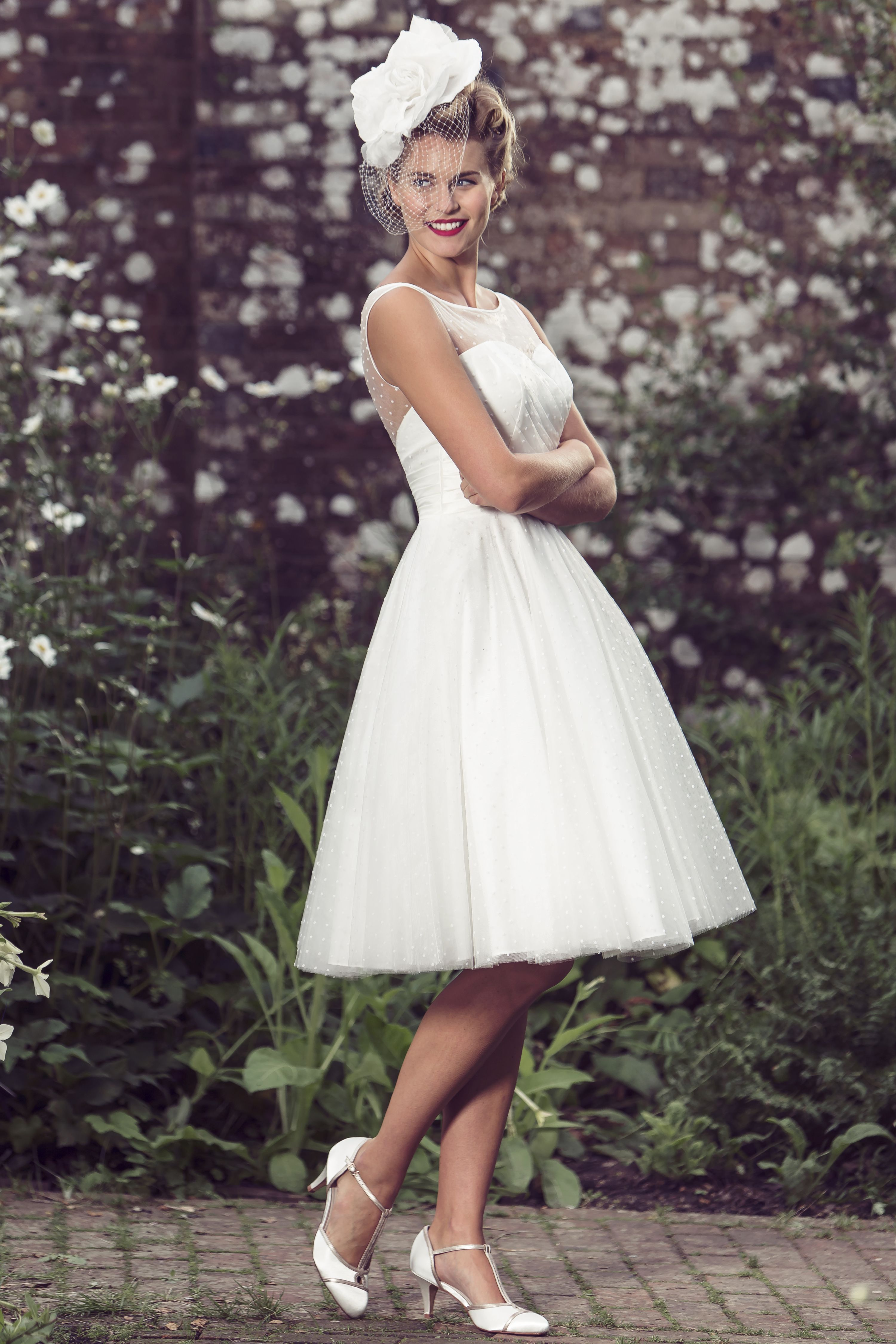 The white dress in brighton