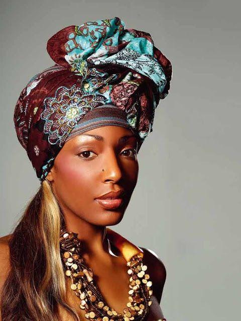 Miss Bénin France Europe 2015, j'y étais Foulards tête