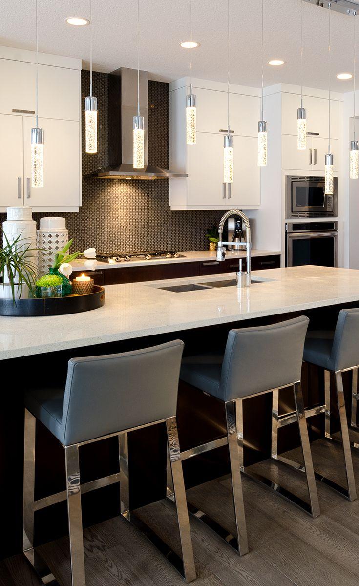 Customer Home Kitchen Pendantlights Calgary Interior Designer Www Decoratinglife Ca Morrison Homes Home Kitchens Kitchen Inspirations