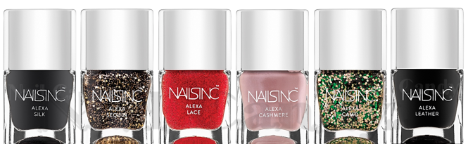 Nails Inc Alexa Chung Fabric Inspired Polish Collection