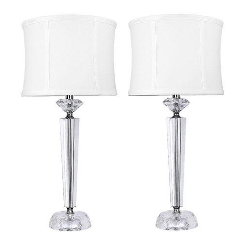 Found It At Wayfair Genuine Crystal Table Lamps Crystal Table Lamps Table Lamp Lamp