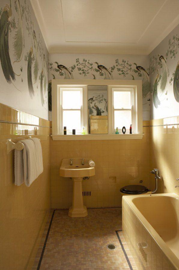 Bei schrecklichen Fliesen im Bad | Home sweet home | Pinterest ...