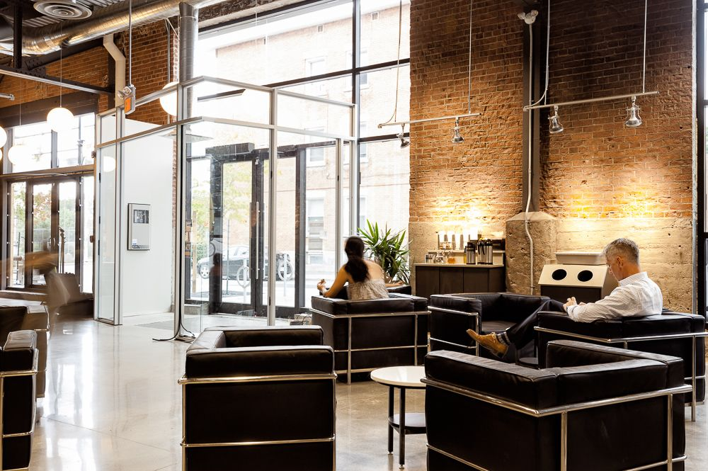 An Interior Photo Of Our Project The Bridgehead Roastery By A