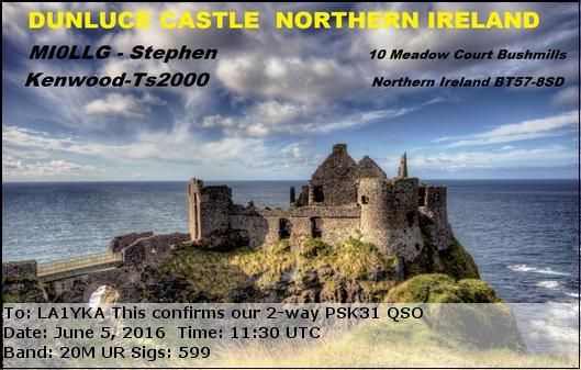 GB0VC   Northern Ireland
