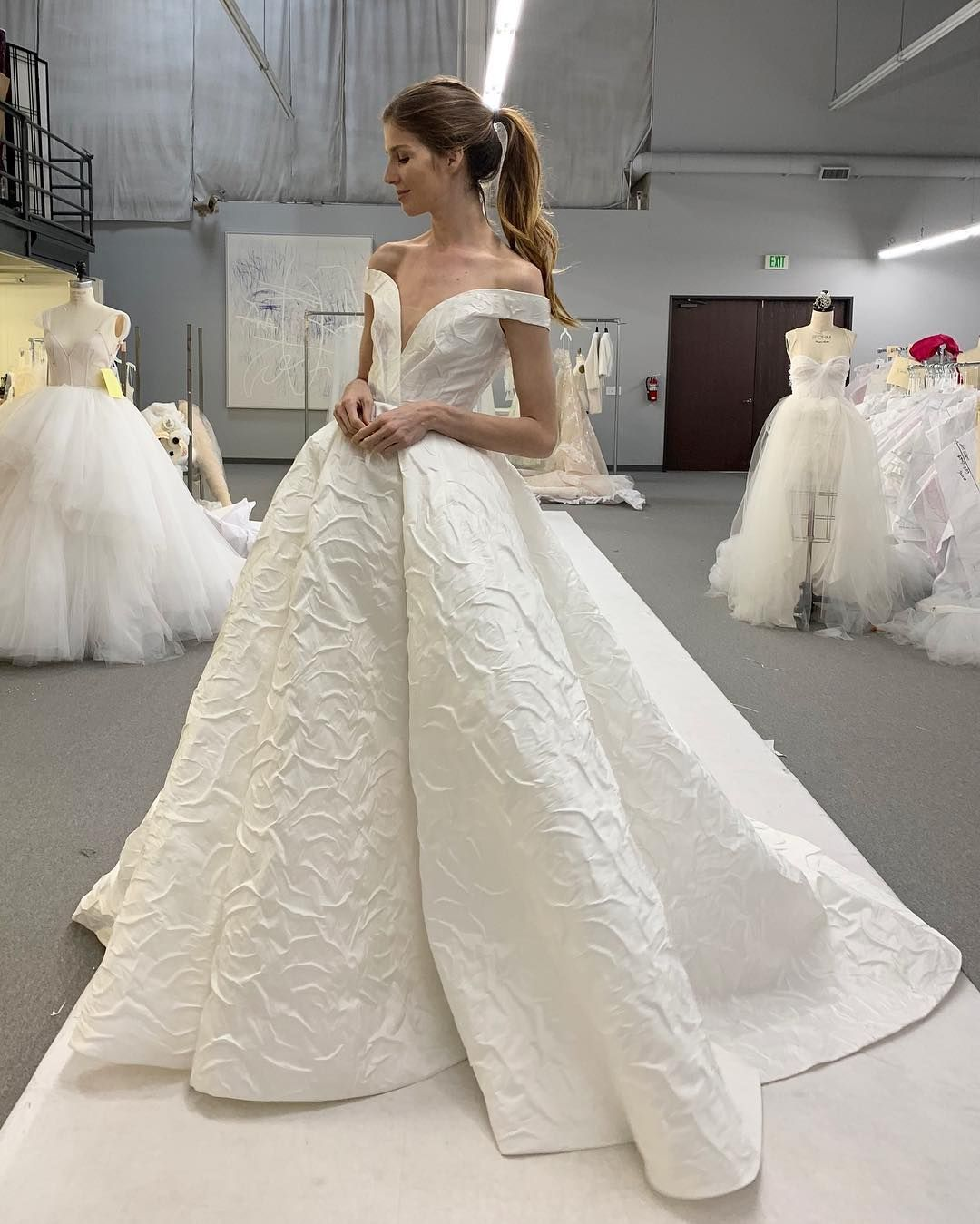 Monique Lhuillier On Instagram Today S Fittings I Think We Have A Winner Xm Moniquel Wedding Dresses Wedding Dresses For Sale Beautiful Wedding Dresses