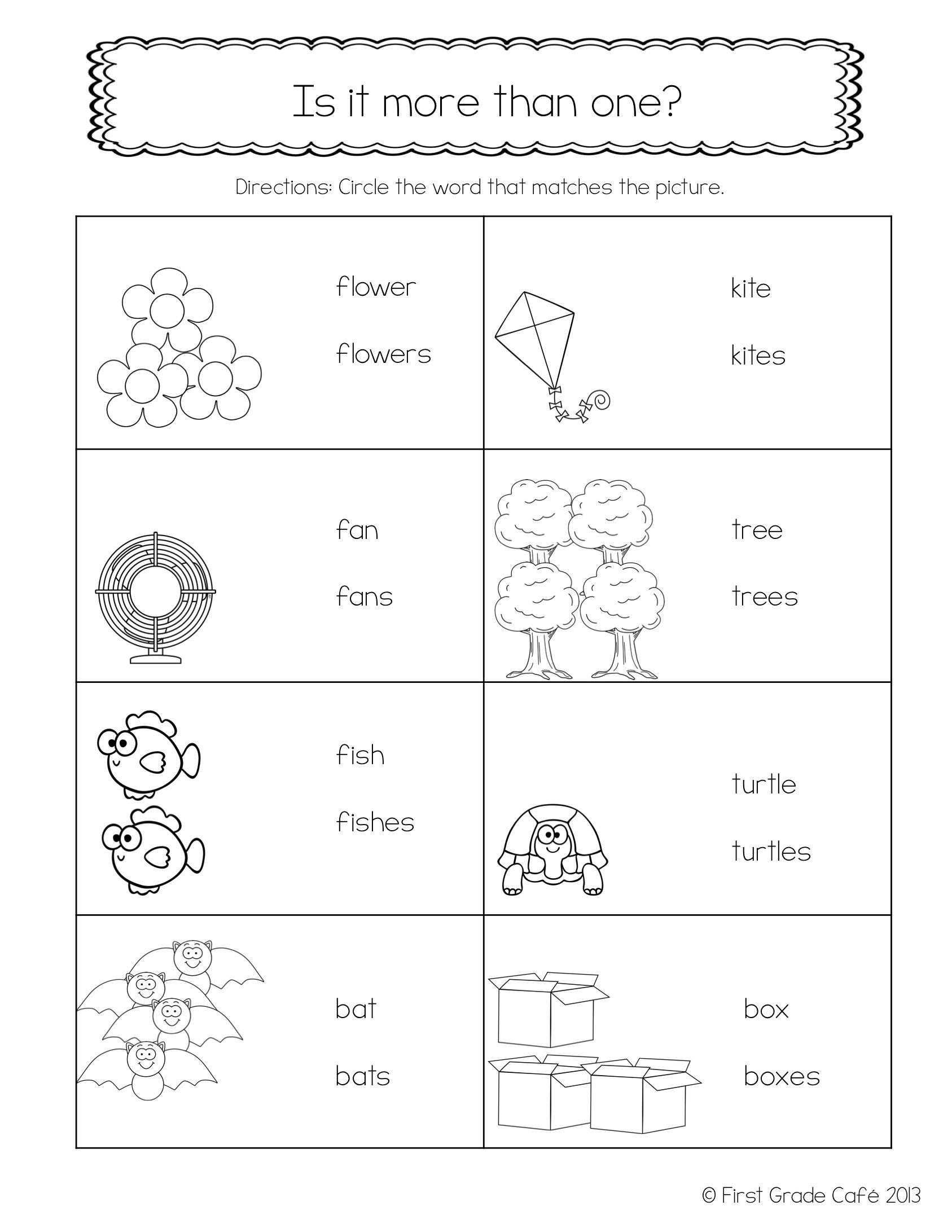 Inflectional Endings Inflectional Endings 2nd Grade Worksheets Kindergarten Math Worksheets Free