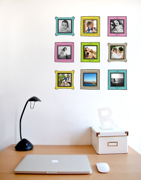 9 Instagram photo Frames 4x4 frames 4x4 picture frames by OrlyPea