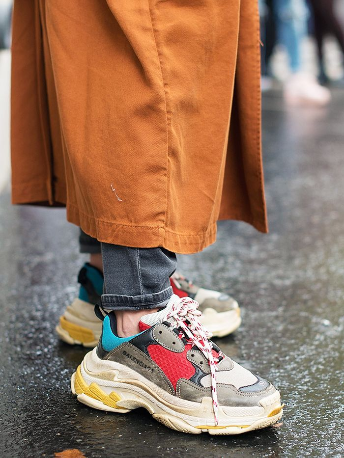 Why is everyone talking about Triple S sneakers right now  It s got  everything to do with Balenciaga and